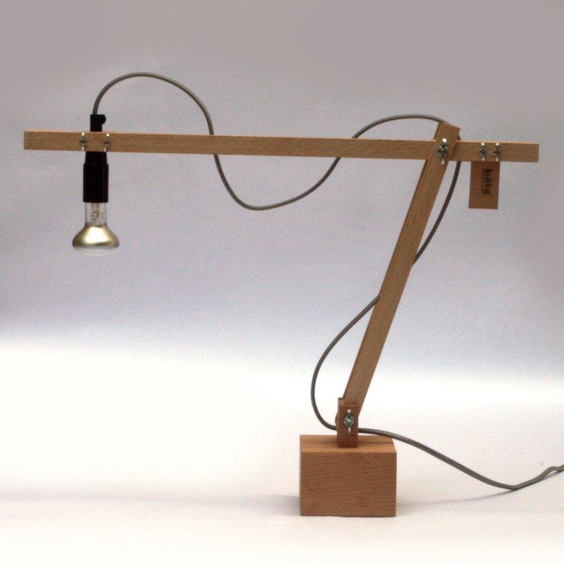 Diy lamp lampada fai da te di rmkdesign mammachecasa for Portacellulare da tavolo fai da te