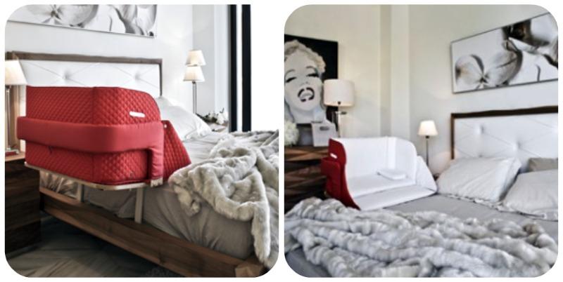 Co sleeping bonding e bedside cots o culle da affiancare al