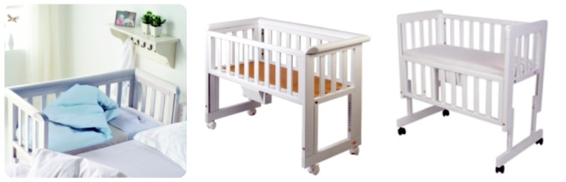 Co sleeping bonding e bedside cots o culle da affiancare - Culla attaccata al letto ...