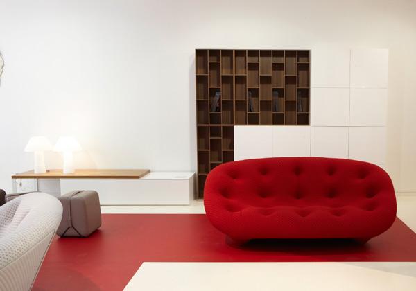 Arredo Soggiorno Rosso : Divano rosso scuro idee per il design della casa