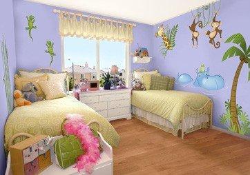 Giveaway adesivi leostickers per decorare la cameretta mammachecasa - Decorare camera bambini ...