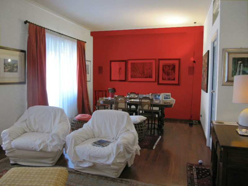 L 39 architetto risponde colore pareti soggiorno mammachecasa for Parete rossa soggiorno