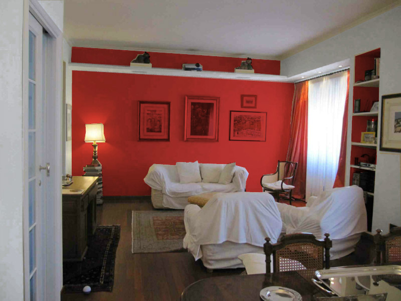 L 39 architetto risponde colore pareti soggiorno mammachecasa - Colore parete cucina noce ...
