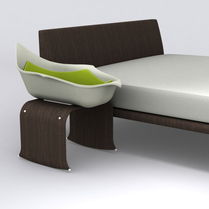 Bloom bassinet co sleeper mammachecasa - Culla che si attacca al letto prenatal ...