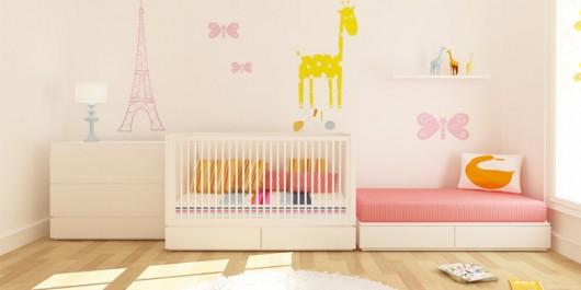 I colori nella cameretta del neonato e l 39 intuito di mamma for Colori cameretta bimba