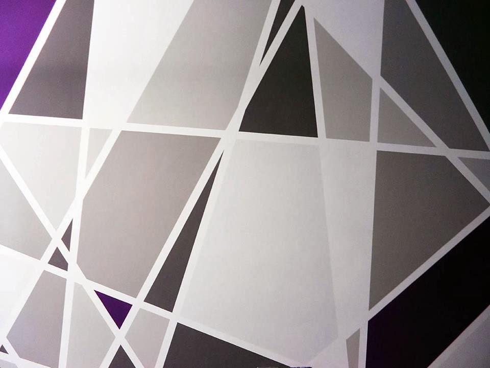 Pareti A Righe Grigie : Come dipingere una parete a righe foto abbinamento di pareti