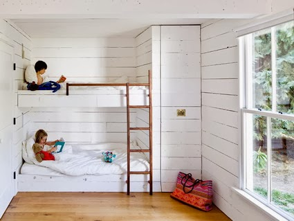 White-Minimalist-Kids-Bunk-Beds-with-Stairs-and-Slide-for-Small-Kids-Bedroom-Furniture-Sets-Design-Ideas