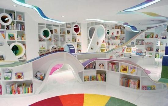 Negozio di libri per bambini Kid's Republic, Pechino. Progettazione: SAKO Architects.