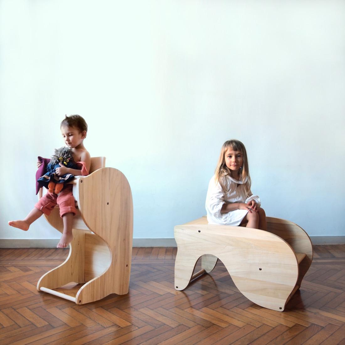 design autoprodotto per bambini