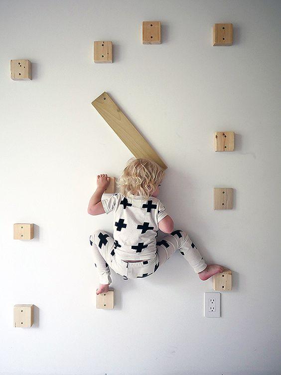 Una palestra in casa a misura di bimbo - Costruire palestra in casa ...