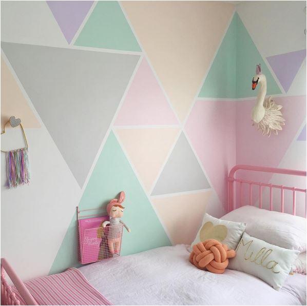 parete colore geometrico
