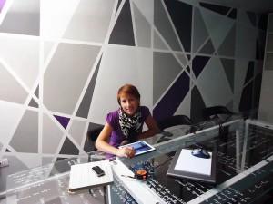 parete geometrica Beatriz Sempere