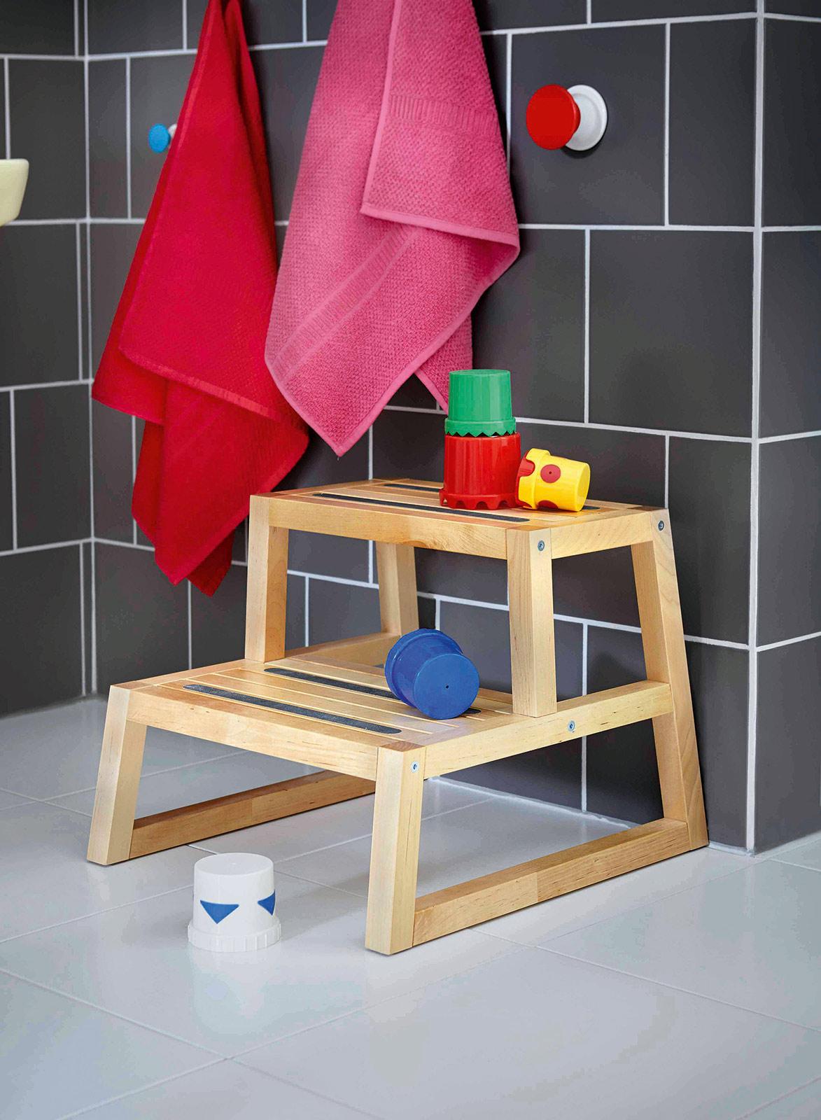 Sgabello Bambini Bagno Ikea un bagno ad altezza di bimbo. sicurezza, fantasia, ordine